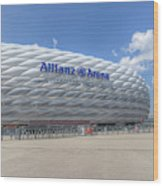 Allianz Arena Munich  Wood Print