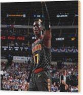 Atlanta Hawks V Dallas Mavericks Wood Print