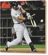 Baltimore Orioles V Chicago White Sox Wood Print