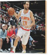 Charlotte Hornets V Atlanta Hawks Wood Print