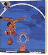 Chicago Bulls V Orlando Magic Wood Print