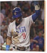 Chicago Cubs V Arizona Diamondbacks Wood Print