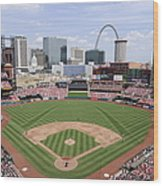 Cincinnati Reds V. St. Louis Cardinals Wood Print