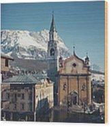 Cortina Dampezzo Wood Print