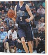 Dallas Mavericks V Memphis Grizzlies Wood Print