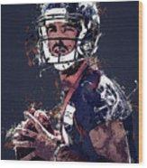 Denver Broncos.case Keenum. Wood Print