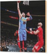 Denver Nuggets V Washington Wizards Wood Print