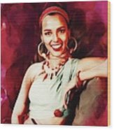Dorothy Dandridge, Hollywood Legend Wood Print