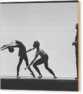 George Balanchine Wood Print