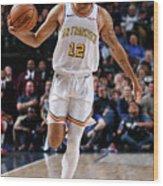 Golden State Warriors V Dallas Mavericks Wood Print