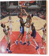 Golden State Warriors V La Clippers Wood Print