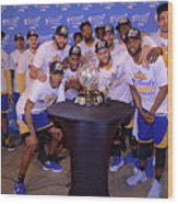 Golden State Warriors V San Antonio Wood Print