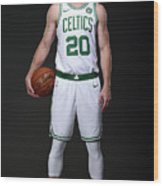 Gordon Hayward Boston Celtics Portraits Wood Print