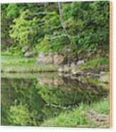 Green's Hill Wood Print