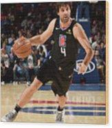 La Clippers V Philadelphia 76ers Wood Print