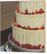 3 Layer Wedding Cake Wood Print