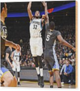 Minnesota Timberwolves V Golden State Wood Print