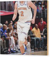 New York Knicks V La Clippers Wood Print