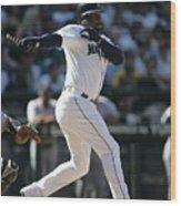 New York Yankees V Seattle Mariners 3 Wood Print
