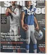 Nfc Gunslingers 2014 Nfl Football Preview Issue Sports Illustrated Cover Wood Print