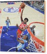 Philadelphia 76ers V Denver Nuggets 3 Wood Print