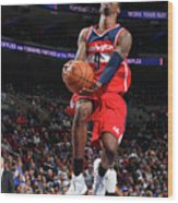 Philadelphia 76ers V Washington Wizards Wood Print