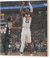 Phoenix Suns V Milwaukee Bucks Wood Print