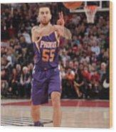 Phoenix Suns V Portland Trail Blazers Wood Print