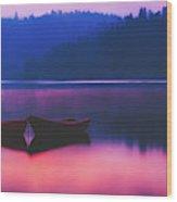 Quiet Dawn Wood Print