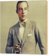 Rudolph Valentino, Vintage Actor Wood Print