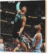 Sacramento Kings V Charlotte Hornets Wood Print