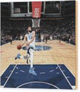Sacramento Kings V Minnesota Wood Print