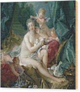 The Toilette Of Venus  Wood Print