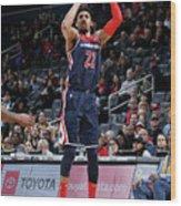 Toronto Raptors V Washington Wizards Wood Print