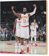 Washington Wizards V Atlanta Hawks - Wood Print
