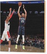 Washington Wizards V New York Knicks Wood Print