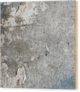 Weathered Stone Wall Wood Print