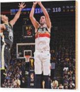 New Orleans Pelicans V Golden State Wood Print