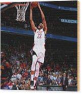 Atlanta Hawks V Washington Wizards Wood Print