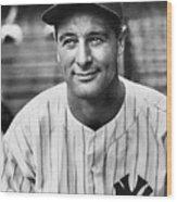 National Baseball Hall Of Fame Library 39 Wood Print