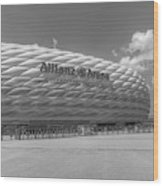 Allianz Arena Munich  Wood Print