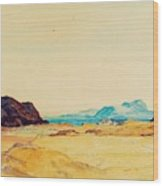 An Extensive Landscape  Wood Print