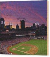 Arizona Diamondbacks V St. Louis Wood Print