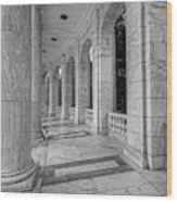 Arlington National Cemetery Memorial Amphitheater Wood Print