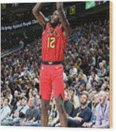 Atlanta Hawks V Utah Jazz Wood Print