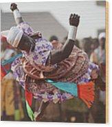 Benins Mysterious Voodoo Religion Is Wood Print