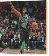 Boston Celtics V Chicago Bulls Wood Print
