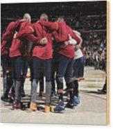 Boston Celtics V Cleveland Cavaliers Wood Print