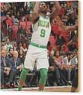 Boston Celtics V Miami Heat Wood Print