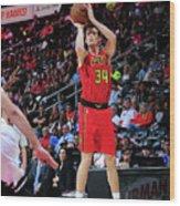 Brooklyn Nets V Atlanta Hawks Wood Print
